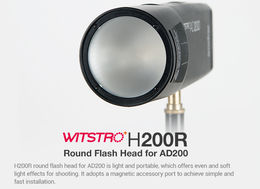 Godox H200R Round Flash Head (AD200)